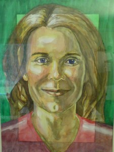 Watercolour on paper, 30 x 40 cm, 2001.