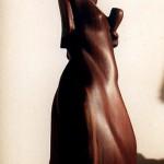 Plum and walnut, 45 cm tall, 2005