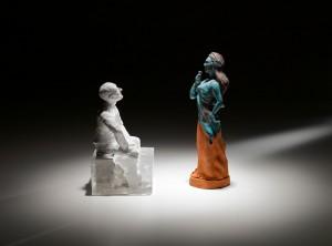 Mixed media, 50 cm tall, 2009